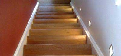 In This Situation A 50mm Deep Strip Can Be Lied To The Stair Creating Very Safe Contact Area While Ascending Or