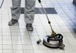Cleaning anti slip surfaces